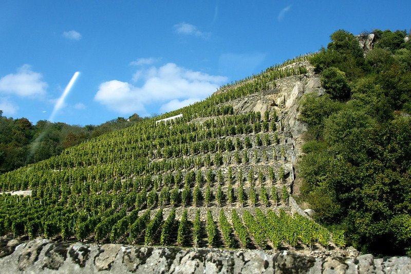 Driving from Beaune France to Chateuneuf Du Pape
