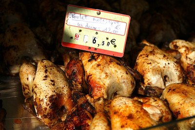 MAY 18 PARIS MARKETS You could pick up a whole rotisserie chicken freshly cooked