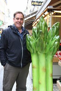 PARIS, May 14, 2013 Steve loves asparagus
