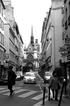 STREET SCENE 5-13-13 PARIS A stroll around the area of our hotel