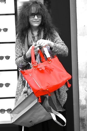 SHOPPING IN PARIS  Score!!!  I got my orange bag!!! Thank you Steve!!!! May 15 2013