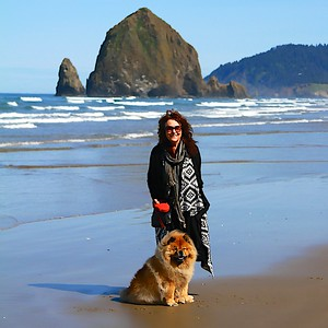 My Birthday day!  May 12, 2014 Cannon Beach Oregon