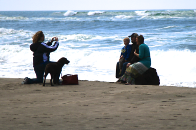 """Caught in a """"Kodak MOment""""...dog and all"""