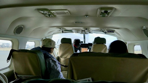 Flight from Nairobi to Masai Mara