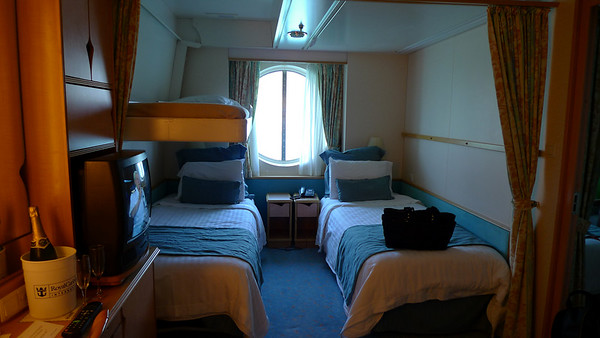 We had two adjacent staterooms on Deck Two.