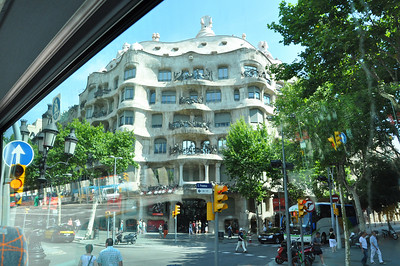 Another Gaudi building, the Casa Mila