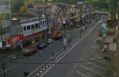 Downtown Jerantut.... a little town on the way to the central Malaysian jungles