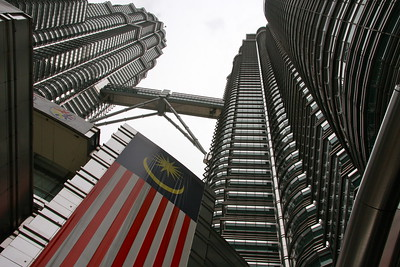 the Petronas towers in Kuala Lumpur Malaysia.  I have always wanted to visit these which are now the 2nd tallest buildings in the world