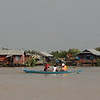 floating village on a lake near Siem Reap Cambodia