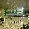 Singapore Changi Airport.  Super clean and modern airport