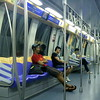 Singapore SMRT Subway train
