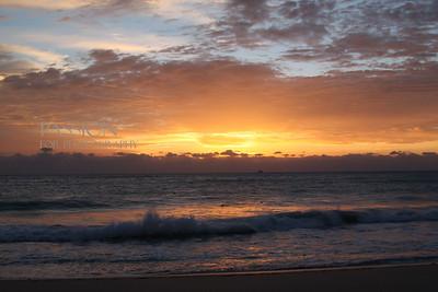 FORT LAUDERDALE FLORIDA SUNSET