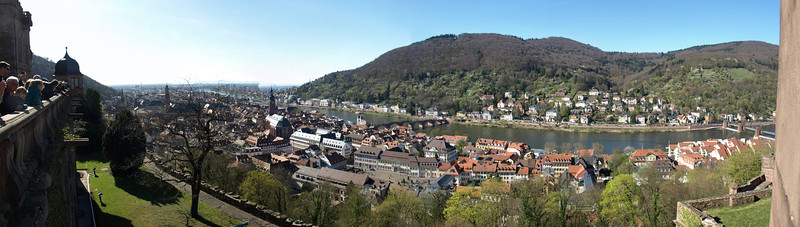 Hidelberg - from the castle