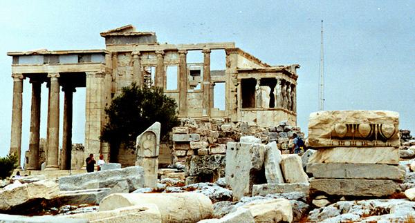 ACROPOLIS AREA, ATHENS, GREECE