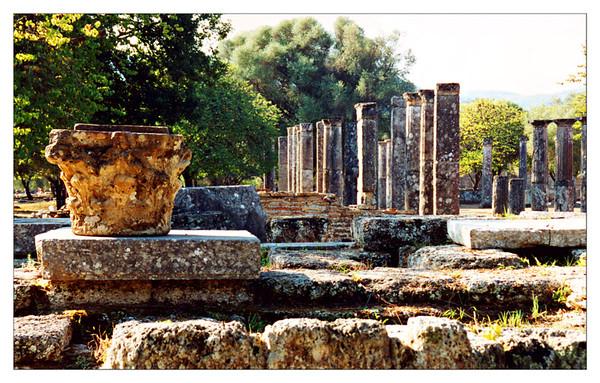 OLD OLYMPIA, PIRAEUS, AND IRAKLION, GREECE