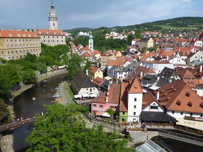 Český Krumlov and České Budějovice 2016