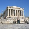 Richard in front of Parthenon, Athens