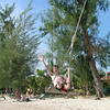 Richard on a swing, Klong Prao Beach