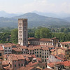 View From Tower - Lucca