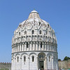 Building Adjoining Leaning Tower of Pisa