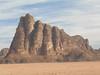 Wadi Rum cliff, Jordan