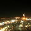 Djemaa el-Fna at night