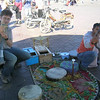 Richard caught by the snake charmers - Djemaa el-Fna, Marrakesh