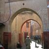 Arches, Marrakesh medina