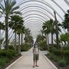 Richard in a garden - Ciudad de las Artes y las Ciencias, Valencia