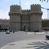 Torres de Serrano, Valencia - This gate was once part of the old city wall.