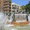 Fountain, Plaza de la Virgen, Valencia