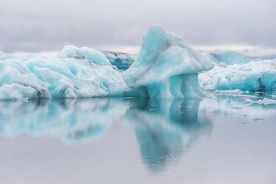 Iceberg Series #1, Jokulsarlon Glacier Lagoon, Iceland