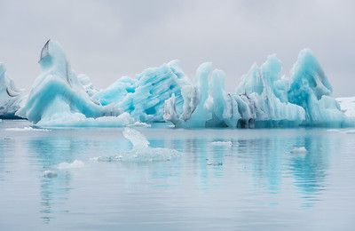 Iceberg Series #2, Jokulsarlon Glacier Lagoon, Iceland