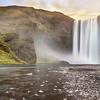 Skogafoss waterfall, Iceland.