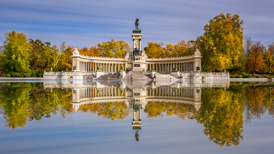 Reflection in Madrid