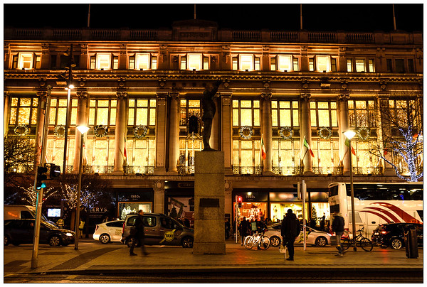 Clerys at Christmas