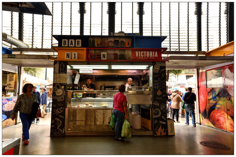 Market foodstall, Malaga