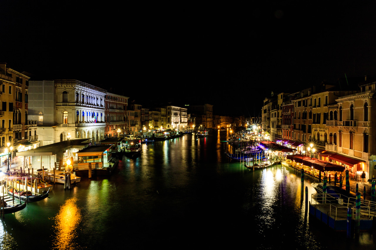 Quiet Night on the Grand Canal