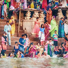 Bathing in the River Ganges