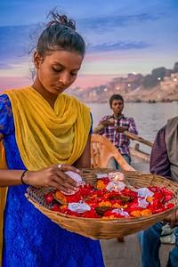 Diwali Festival in Varanasi, India.
