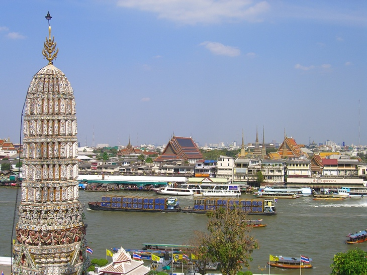 View of Old Bangkok - Bangkok, Thailand