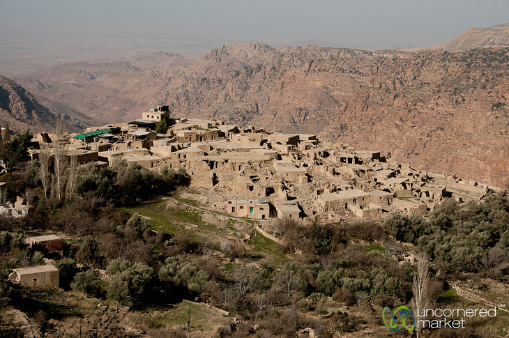 Early Morning View of Dana Village - Jordan
