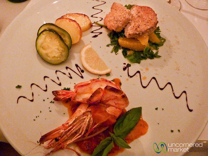 Seafood Plate at Vino e Libri - Mitte, Berlin