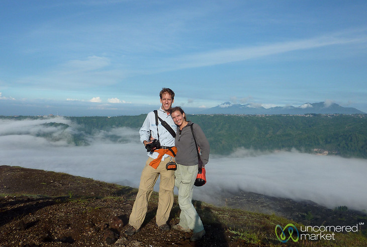 Above the Clouds at Mt. Batur - Bali, Indonesia