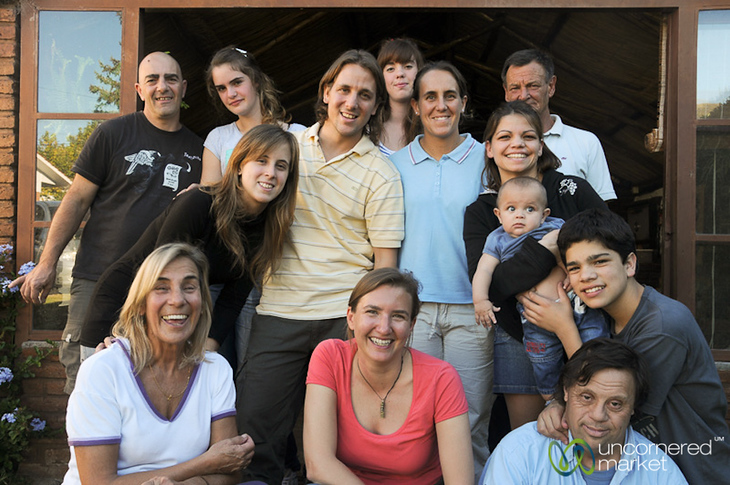 Family Gathering in La Falda, Argentina