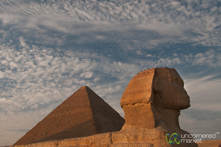 Great Sphinx at Giza - Cairo, Egypt