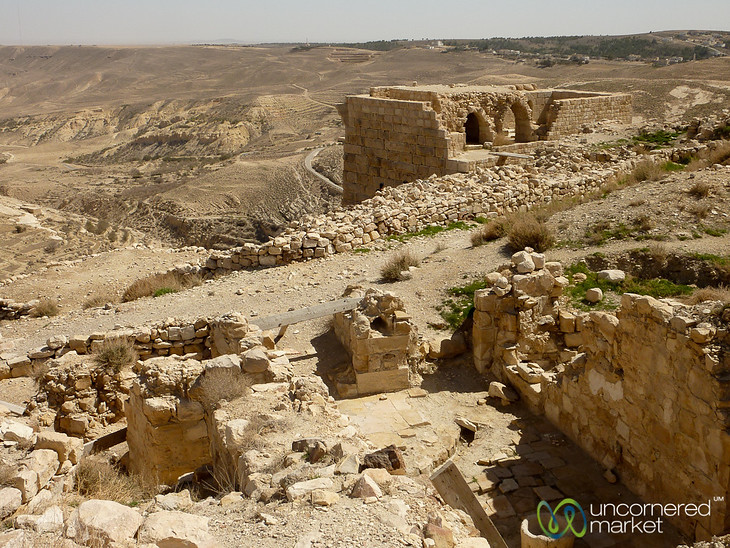 Shouback Castle, a Crusader Castle - Jordan Crusader Castle - Jordan