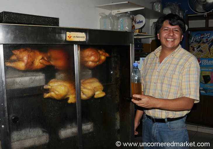Rotisserie Chickens - Sucre, Bolivia