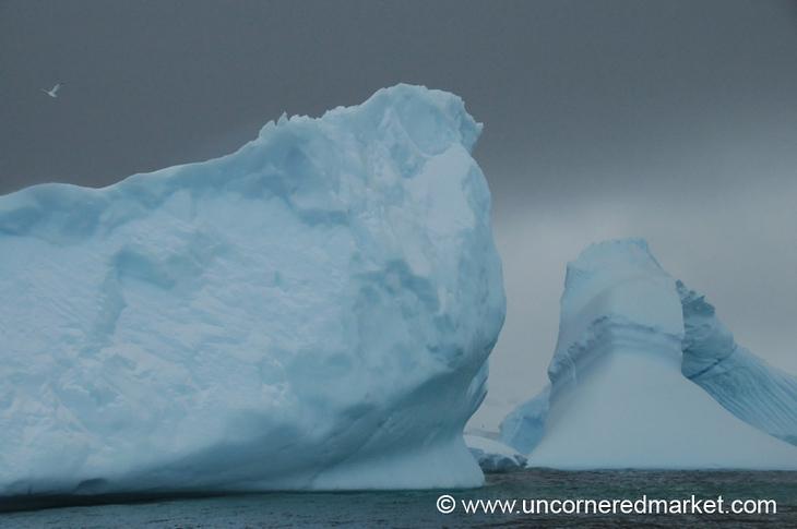 Ice Formations in Hanusse Bay - Antarctica