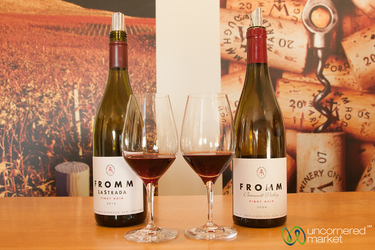 Wine Tasting at Fromm Winery - Marlborough, New Zealand